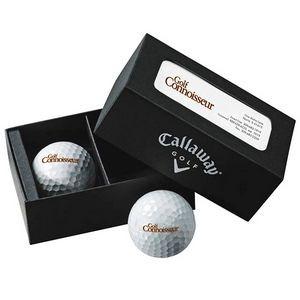 Callaway® 2 Ball Business Card Box - HEX Warbird™