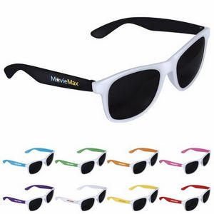Good Value® Two-Tone White Frame Sunglasses