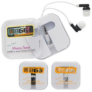 Good Value® Earbuds w/Carry Case