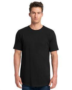 NEXT LEVEL APPAREL Men's Cotton Long Body Crew