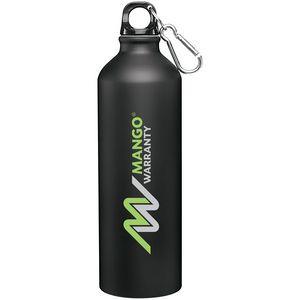 24oz H2go Aluminum Classic Bottle (Matte Black)
