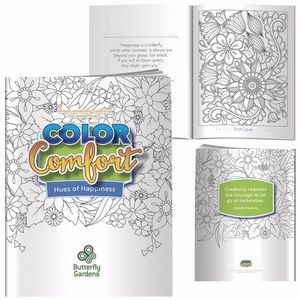 BIC Graphic® Adult Coloring Book - Meditations (Birds)
