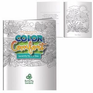 BIC Graphic® Adult Coloring Book - Serenity by the Sea