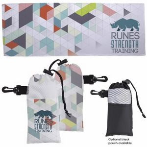 Universal Source™ 4 Color Cooling Towel In Pouch