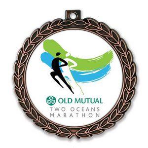 Medallion - Gold, Silver, Bronze Tone