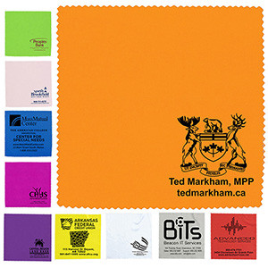 """6""""x 6"""" """"OneCleanScreen"""" 100% Microfiber Cleaning Cloth & Screen Cleaner (Overseas)"""