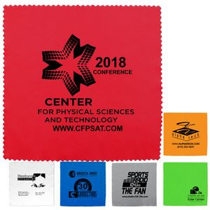 """8""""x 8"""" """"OneCleanScreen XL"""" 100% Microfiber Cleaning Cloth & Screen Cleaner"""
