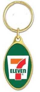 Brass Key Tag w/Laminate