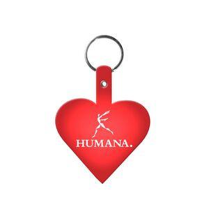 Heart Flexible Key Tag