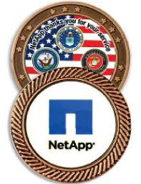 """1 1/2"""" Challenge Coin w/2 Sided's"""