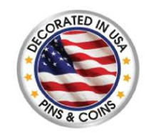 """1 3/4"""" Coin w/Full Color & Glossy Finish"""