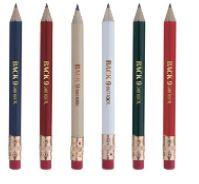 Round Golf Pencil w/Eraser