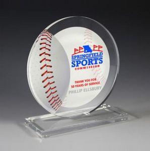 "Baseball Achievement Award- Screen Printed - (5¾"" x 6¼"")"
