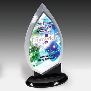 "Century Acrylic Awards- Screen Print - (5 1/2""x9 1/2""x3 1/2"")"