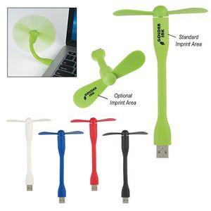 USB Two Blade Mini Flexible Fan