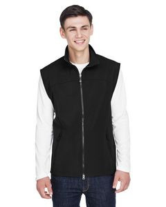 NORTH END Men's Three-Layer Light Bonded Performance Soft Shell Vest