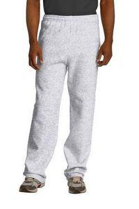 Jerzees® Men's NuBlend® Open Bottom Sweatpants w/Pockets