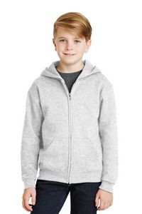 Jerzees® Youth NuBlend® Full-Zip Hooded Sweatshirt