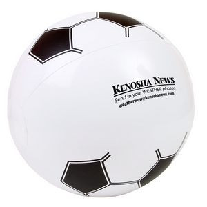Soccer Ball Shaped Beach Ball