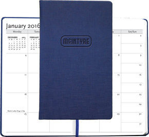 """Casebound Hybrids™ - Bohemian™ Textured Journal w/Planner - Medium (5""""x8.5"""")"""