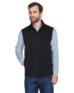 CORE 365 Men's Cruise Two-Layer Fleece Bonded Soft Shell Vest
