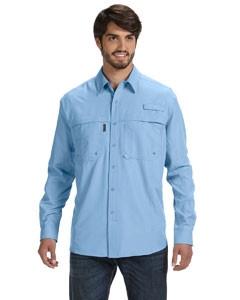 DRI DUCK Men's 100% polyester Long-Sleeve Fishing Shirt