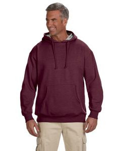 Econscious - Big Accessories Adult 7 oz. Organic/Recycled Heathered Fleece Pullover Hood
