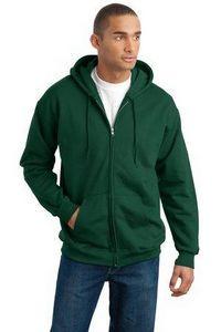 Hanes® Men's Ultimate Cotton® Full-Zip Hooded Sweatshirt