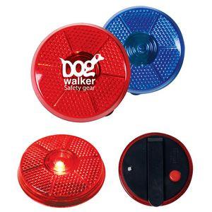 Round Flashing Button