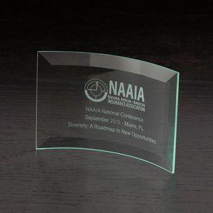 Chronicle X-Small Jade Glass Award