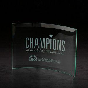 Chronicle Large Jade Glass Award