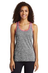 Sport-Tek® Ladies' PosiCharge® Electric Heather Racerback Tank Top