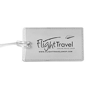 """""""Lightning"""" Leatherette Luggage Bag Tag (Overseas)"""