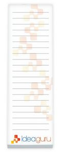 """3""""x9"""" BIC® Ecolutions® 25 Sheet Non-Adhesive Scratch Pad"""