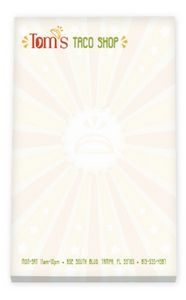"""4""""x6"""" BIC® Ecolutions® 25 Sheet Non-Adhesive Scratch Pad"""