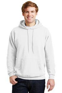 Hanes® Men's EcoSmart® Pullover Hooded Sweatshirt