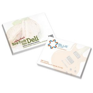 "4""x3"" BIC® Adhesive 25 Sheet Notepad"