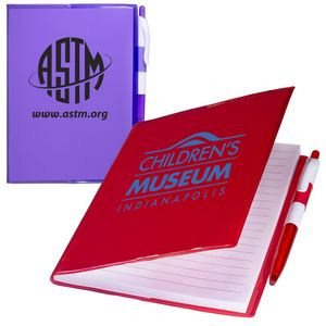 Clear-View Notebook w/Pen