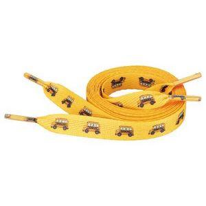"""Full Color Shoelaces - 1/2""""W x 54""""L"""