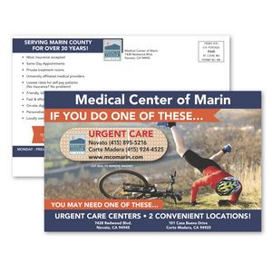 SuperSeal 5-3/16 x 8 Direct Mail Postcard