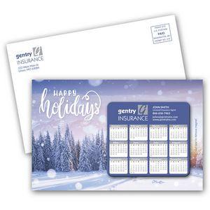 SuperSeal Laminated Card With Calendar Magnet