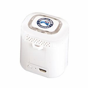 Light Ring Bluetooth (R) Speaker - Clear