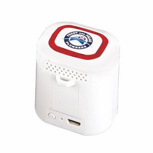 Light Ring Bluetooth (R) Speaker - Red