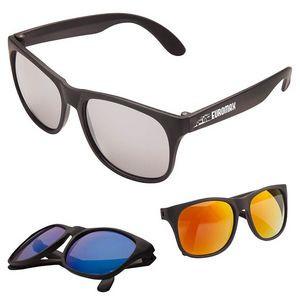 Sharp Mirrored Sunglasses