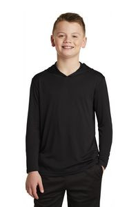 Sport-Tek® Youth PosiCharge® Competitor™ Hooded Pullover Shirt